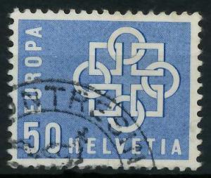 SCHWEIZ 1959 Nr 680 gestempelt 9A2BD2