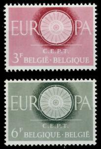 BELGIEN 1960 Nr 1209-1210 postfrisch 9A2C16