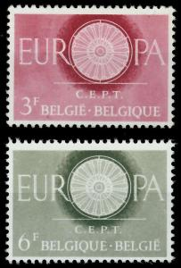 BELGIEN 1960 Nr 1209-1210 postfrisch 9A2C36