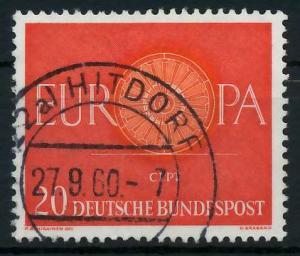 BRD BUND 1960 Nr 338 gestempelt 9A2C66