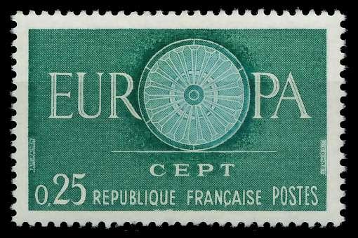 FRANKREICH 1960 Nr 1318 postfrisch 9A2CAE 0