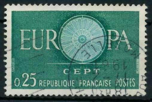 FRANKREICH 1960 Nr 1318 gestempelt 9A2CBA 0