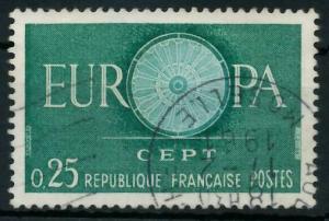 FRANKREICH 1960 Nr 1318 gestempelt 9A2CBA