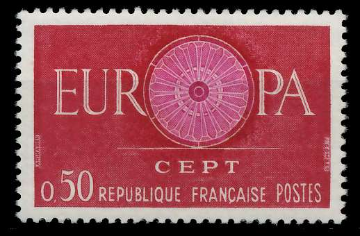 FRANKREICH 1960 Nr 1319 postfrisch 9A2CCE 0