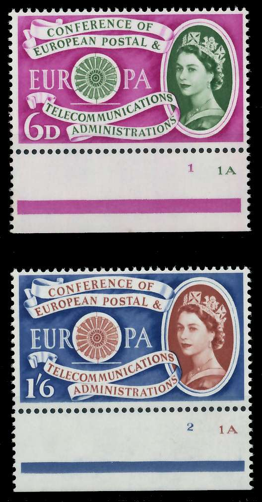 GROSSBRITANNIEN 1960 Nr 341-342 postfrisch URA 9A2CD2 0