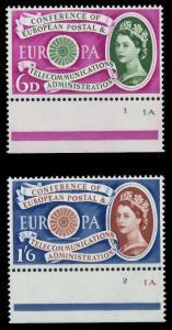 GROSSBRITANNIEN 1960 Nr 341-342 postfrisch URA 9A2CD2