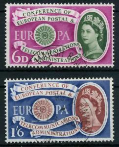 GROSSBRITANNIEN 1960 Nr 341-342 gestempelt 9A2CD6