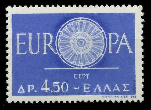 GRIECHENLAND 1960 Nr 746 postfrisch 9A2CDE 0