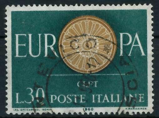 ITALIEN 1960 Nr 1077 gestempelt 9A2D56 0