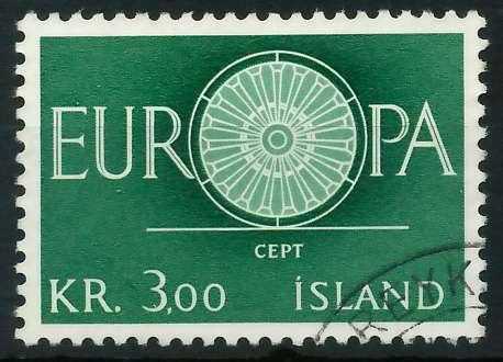 ISLAND 1960 Nr 343 gestempelt 9A2D62 0