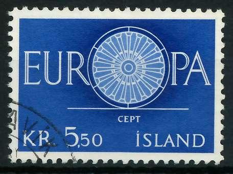 ISLAND 1960 Nr 344 gestempelt 9A2D82 0