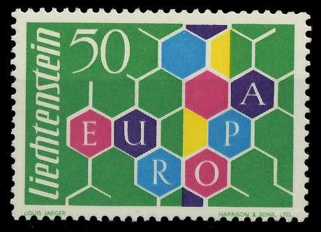 LIECHTENSTEIN 1960 Nr 398I postfrisch 9A2D9E 0