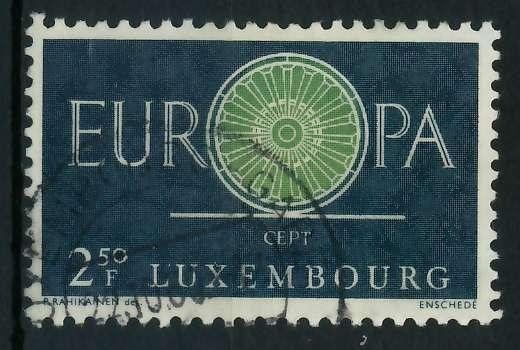 LUXEMBURG 1960 Nr 630 gestempelt 9A2DB6 0