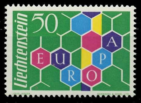 LIECHTENSTEIN 1960 Nr 398I postfrisch 9A2DC2 0