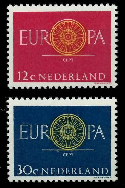 NIEDERLANDE 1960 Nr 753-754 postfrisch 9A2DD6 0