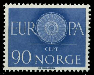 NORWEGEN 1960 Nr 449 postfrisch 9A2DF6 0