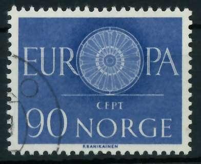 NORWEGEN 1960 Nr 449 gestempelt 9A2E06 0