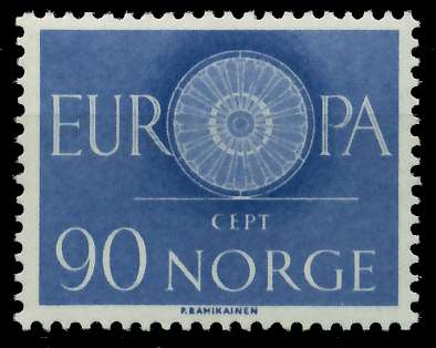 NORWEGEN 1960 Nr 449 postfrisch 9A2E0A 0
