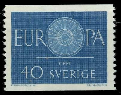 SCHWEDEN 1960 Nr 463 postfrisch 9A2E4A 0