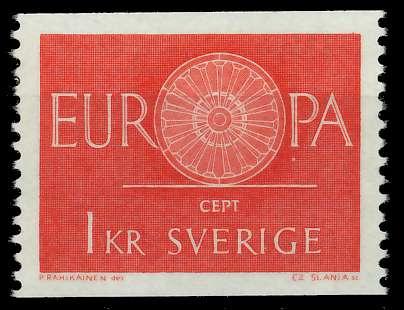 SCHWEDEN 1960 Nr 464 postfrisch 9A2E76 0