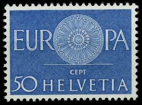 SCHWEIZ 1960 Nr 721 postfrisch 9A2E7E 0