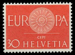 SCHWEIZ 1960 Nr 720 postfrisch 9A2E82