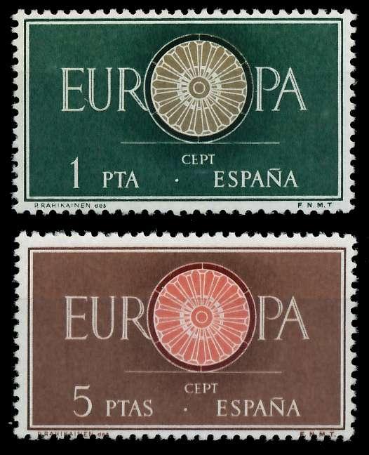 SPANIEN 1960 Nr 1189-1190 postfrisch 9A2EA6 0