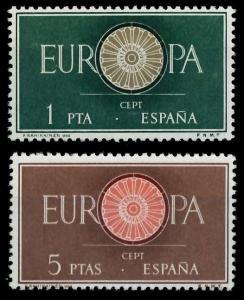 SPANIEN 1960 Nr 1189-1190 postfrisch 9A2EA6