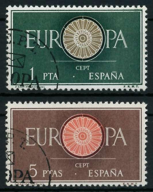 SPANIEN 1960 Nr 1189-1190 gestempelt 9A2EAA 0