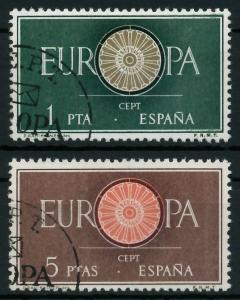 SPANIEN 1960 Nr 1189-1190 gestempelt 9A2EAA