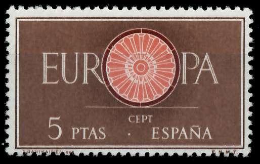 SPANIEN 1960 Nr 1190 postfrisch 9A2EB6 0