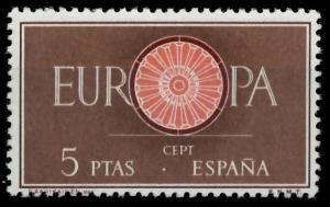SPANIEN 1960 Nr 1190 postfrisch 9A2EB6
