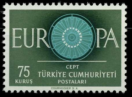 TÜRKEI 1960 Nr 1774 postfrisch 9A2EBA 0