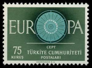 TÜRKEI 1960 Nr 1774 postfrisch 9A2ECE