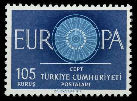 TÜRKEI 1960 Nr 1775 postfrisch 9A2ED6 0