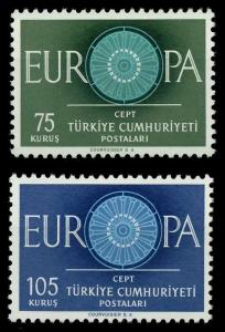 TÜRKEI 1960 Nr 1774-1775 postfrisch 9A2EDE