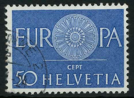 SCHWEIZ 1960 Nr 721 gestempelt 9A2EF2 0