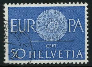 SCHWEIZ 1960 Nr 721 gestempelt 9A2EF2