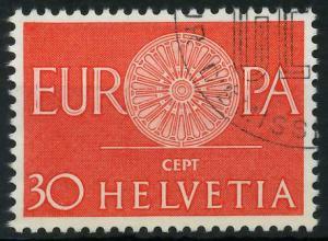 SCHWEIZ 1960 Nr 720 gestempelt 9A2F02