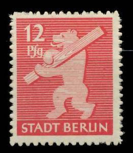 SBZ BERLIN BRANDENBURG Nr 5B postfrisch 9A2F06