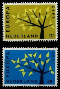 NIEDERLANDE 1962 Nr 782-783 postfrisch SA1DE06
