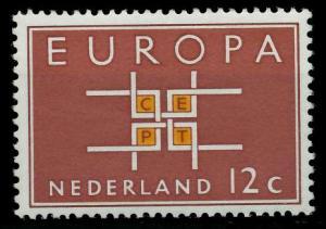 NIEDERLANDE 1963 Nr 806 postfrisch SA3179A