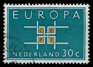 NIEDERLANDE 1963 Nr 807 gestempelt 9B8792