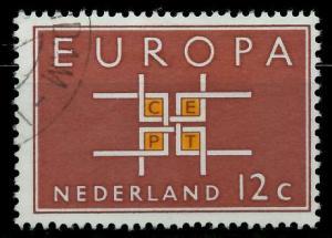 NIEDERLANDE 1963 Nr 806 gestempelt 9B87A2