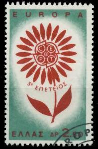 GRIECHENLAND 1964 Nr 858 gestempelt 9B8A56