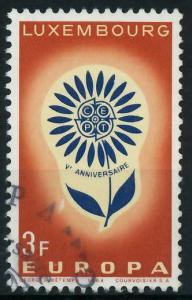 LUXEMBURG 1964 Nr 697 gestempelt 9B8B02