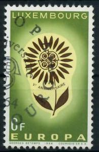LUXEMBURG 1964 Nr 698 gestempelt 9B8B06