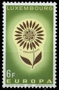 LUXEMBURG 1964 Nr 698 postfrisch SA31B26
