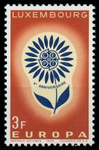 LUXEMBURG 1964 Nr 697 postfrisch SA31B1A