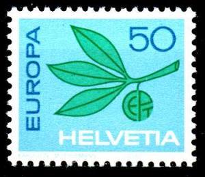 SCHWEIZ 1965 Nr 825 postfrisch S7AD932